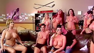Gangbang party with pornstars