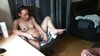 Asian mature horny cam action