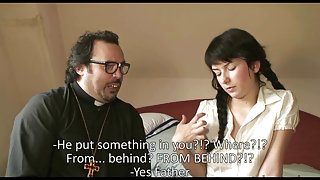 Bulgarian Lora Row is screwed by her priest