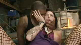 Girl Gets Bonded and Dominated By Black Dick