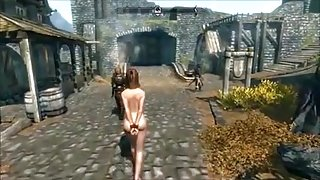 Perils of escaped Skyrim slavegirl 11