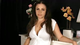 Slut gets nasty in live webcam xxx video