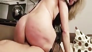 Italian milf  anal fucked by a intense cock