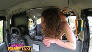 Female Fake Taxi Big black cock fucks horny drivers swollen pussy